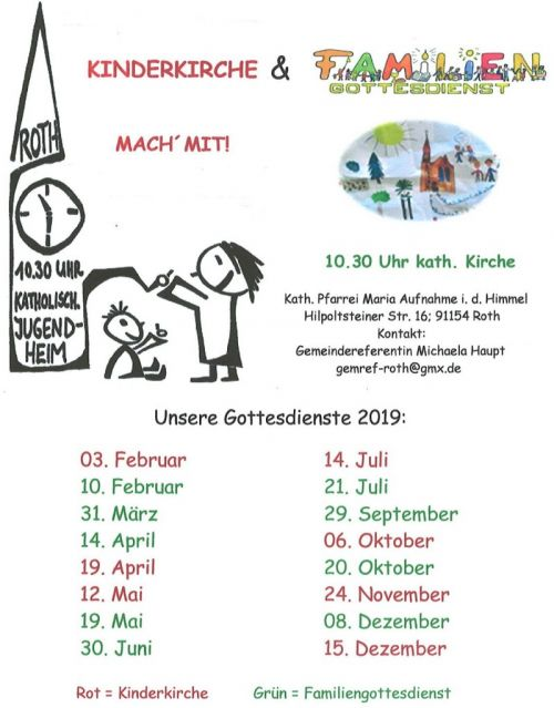 thumb Termine 2019 Kinderkirche Familiengottesdienst Roth A5 01